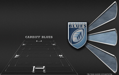 Cardiff Blues wallpapers by KorfCGI