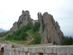 Landscapes Fortress Ancient Bulgaria Incredible Nature Hd