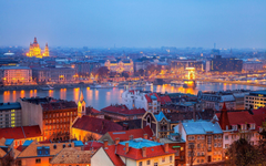 Budapest evening hungary Wallpapers