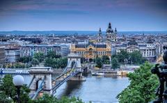 Wallpapers Chain Bridge Budapest Hungary