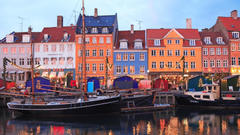 Picture Denmark Copenhagen Cities Houses