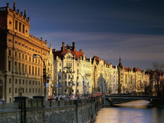 Vltava River Czech Republic Wallpapers