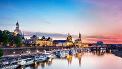 Dresden frauenkirche cities semper opera elbe wallpapers