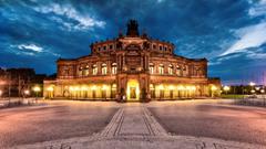 Dresden Opera Hous HD Wallpaper Backgrounds Image