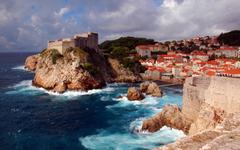 Dubrovnik A Medieval Fortress Croatia Desktop Wallpapers Hd