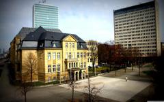Dusseldorf Buildings 4K HD Desktop Wallpapers for 4K Ultra HD TV