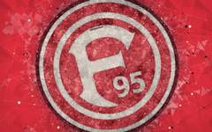 wallpapers Fortuna Dusseldorf FC 4k German football club