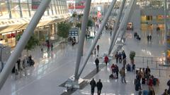 Inside D sseldorf International Airport