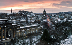 Evening In Edinburgh HD desktop wallpapers High Definition