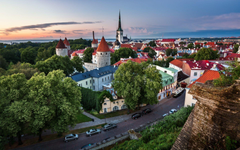 Tallinn Estonia Old Town Wallpapers HD Desktop