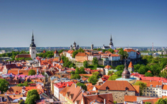 old town panorama estonia estonia roof tallinn HD wallpapers