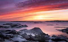 Wallpapers West coast Last Snow Gothenburg Sweden Nature