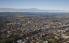 Glasgow aerial view wallpapers