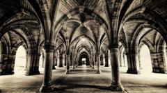 Hallways Tag wallpapers Beautiful Monastery Hallways Choose