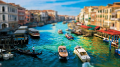 Great Water Street Grand Canal In Venice Wallpapers