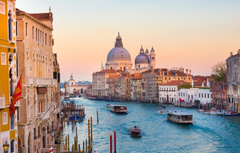 Wallpapers building Italy panorama Venice Cathedral channel