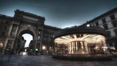 Architecture Wheel Florence Wallpapers 4K HD Desktop