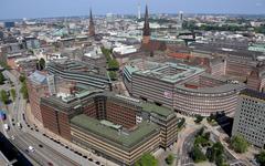 Kontorhaus District in Hamburg wallpapers