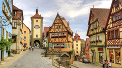 The Charming Rothenburg Ob Der Tauber