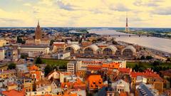 Riga Travel In Latvia Wallpapers