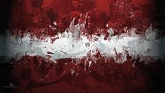 simple Simple Background Minimalism Abstract Flag Of Latvia