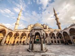 Sultan Ahmed Mosque Istanbul Turkey HD desktop wallpapers