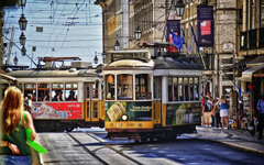 Streets of lisbon Wallpapers