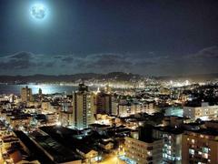 Skyscrapers Lisbon Sightseeing Night Sky Skyscraper Outdoors