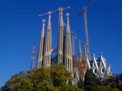 Architecture image La Sagrada Familia HD wallpapers and backgrounds