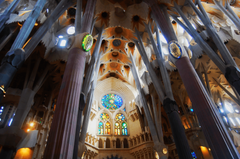Sagrada Família Inside View Wallpapers