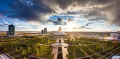 Khan Shatyr Astana park Kazakhstan wallpapers