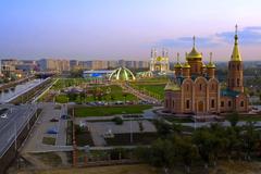 Image Kazakhstan Temples Cities