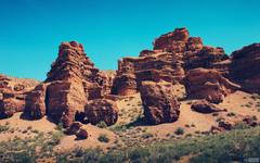 Charyn canyon beautiful views Kazakhstan travel and tourism blog