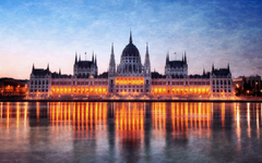 Hungary budapest citylights parliament houses cities wallpapers