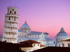 Planet of Hotels Leaning Tower of Pisa wallpapers