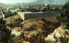 Assassins Creed Jerusalem iPhone wallpapers for