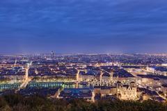 Lyon Cities France Panorama 5K Retina Charming Wallpapers