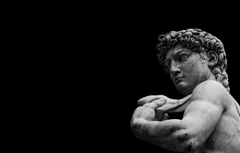 Wallpapers statue marble Florence Michelangelo David image for