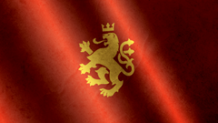 Golden Lion Realistic Flag Wallpapers 1