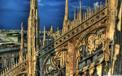 Cathedral In Milan Italy 4K HD Desktop Wallpapers for 4K Ultra HD