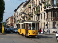 tram street Milan