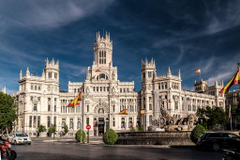 Cibeles Fountain in Madrid Wallpapers 4
