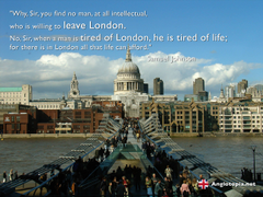 Desktop Wallpaper London Thames and St Paul