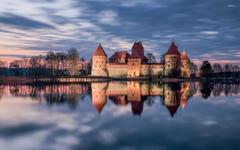 Trakai castle Lithuania wallpapers