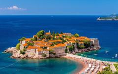 Wallpapers Montenegro Sveti Stefan Montenegro Adriatic Sea Nature