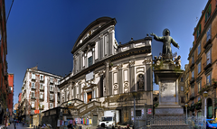 Basilica di San Paolo in Naples Italy wallpapers and image
