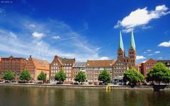 Sunny Munich city HD wallpapers