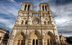 Notre Dame Cathed HD Wallpaper Backgrounds Image
