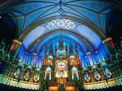 Notre Dame de Paris Interio HD Wallpaper Backgrounds Image