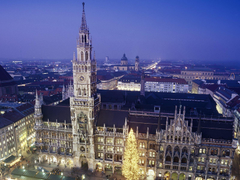 New Town Hall Munich Germany Travel Life Desktop Wallpapers